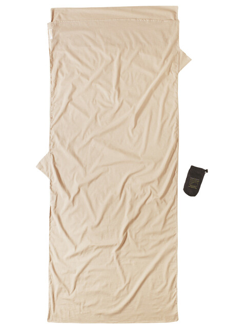 Cocoon Insect Shield TravelSheet Sacco lenzuolo Egyptian Cotton beige